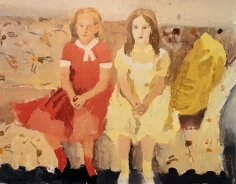 Fairfield Porter Katie and Dorothy E., 1957