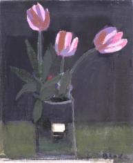 Untitled (three pink tulips)