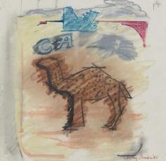 LARRY RIVERS Cream Camel