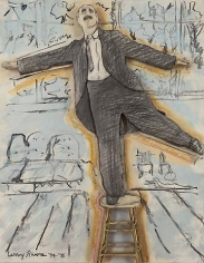Groucho Dancing on a Stool