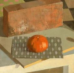 Tangerine 2008 oil on linen