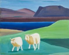 LOUISA MATTHIASDOTTIR Two Sheep and Water