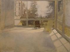 Armchair on Porch
