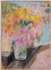 Bougainvillea 1967 pastel on paper
