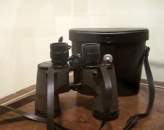 Elizabeth Bishop's Abercrombie and Fitch binoculars