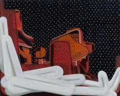 Odalik 2015 oil on canvas