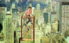 Acrobats 1972 collage