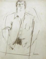 LARRY RIVERS Untitled V (Jack Kerouac)