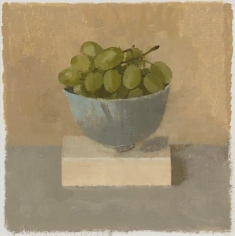 Green Grapes in a Turquoise Teacup I