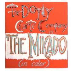 The Doyly Carte Company in The Mikado