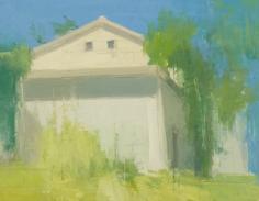 THe Farm House Again, Late Summer, Strong Sun