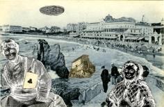Biarritz 1972 collage