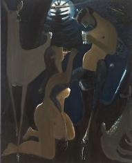 Syrinx 2013 oil on canvas