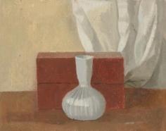 Glass Vase with Bricks