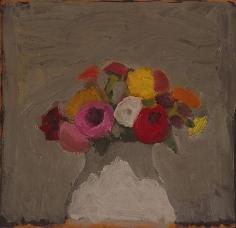 Untitled 1961 oil on masonite