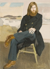 Fairfield Porter, Portrait of John MacWhinnie, 1972