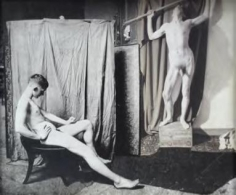 Two Models In The Studio