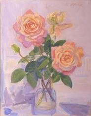 Nell Blaine Blizzard Roses, 1991