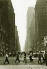 Crossing 1948 gelatin-silver print