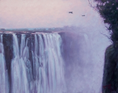 Victoria Falls at Dawn, 2016