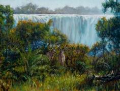 Kudu Near the Falls, 2016