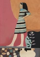 "Jack Martin Rogers. Cretan Girl. 1966. Oil on canvas. 41"" x 28 1/4"" | Anita Rogers Gallery"