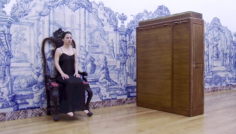 Five Easy Pieces, 2013, with Alice Joana Gonçalves, performance for one dancer, Museum of Contemporary Art Elvas, Portugal