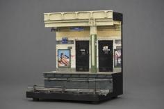 Alan Wolfson, Wall St. Subway Platform, 2008