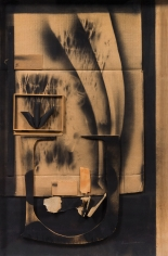 Louise Nevelson (1899-1988) Collage, 1974