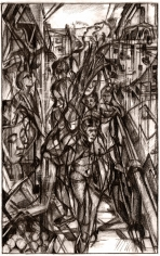 Clive Head (b. 1965) Drawing for Lucifer Ascending, 2017