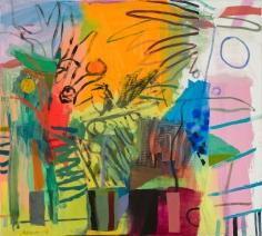 Bill Scott - A Backyard Still Life, 2015