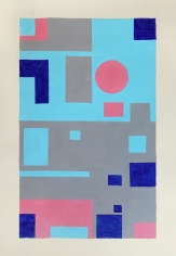 George Vranesh (1926-2014) Sunscape, 1985