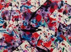 Sam Francis (1923-1994) Untitled (SF92-54), 1992