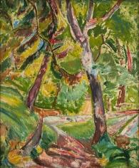 Alfred H. Maurer - Landscape, circa 1914
