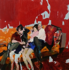 Alex Kanevsky (b. 1963) Sofa People, 2017