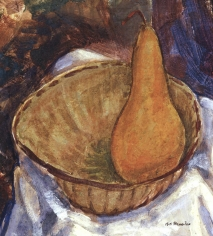 Alfred H. Maurer - Bowl with Pear: Still Life, circa late 1920s