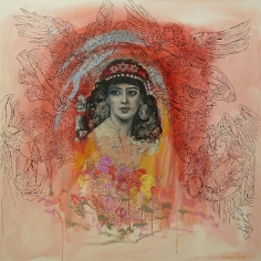 Audrey Flack (b. 1931) Everyone Needs an Angel (Portrait of Sarah), 2017