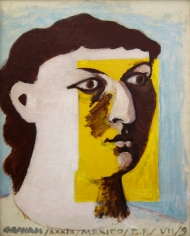 John D. Graham - Untitled (Face of a Woman), Portrait of Anni Albers, 1939