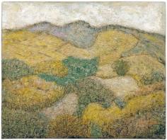 Arnold Friedman (1874-1946) Ulster County Landscape, 1940-46