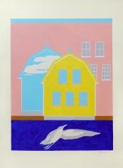 George Vranesh (1926-2014) Untitled (Newport Surreal), 1983
