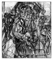 Clive Head (b. 1965) Mindful of a Perfect Stranger (Drawing for Flee to Banbury Cross), 2017