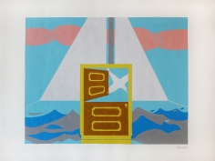 George Vranesh (1926-2014) Untitled (Surreal Sail), 1981