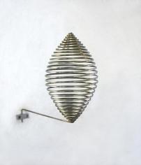Martin Willing (b. 1958) Stab, zum Ellipsoid gewickelt, 2013