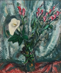 Alfred H. Maurer (1868-1932) Floral Still Life with Calla Lily, circa 1926–8