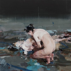 Alex Kanevsky - Models Painting Themselves, 2016 - Hollis Taggart