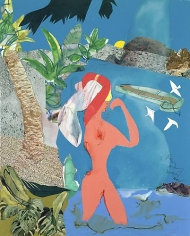 Romare Bearden - At Low Tide, 1988