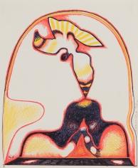 William Scharf, Arched Annunciation, 1979