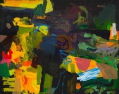 Bill Scott - A City Square, 2001