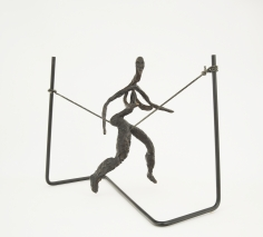 Alexander Calder (1898-1976) Tightrope Worker (Woman on Cord), 1944 / Lifetime Cast 1969
