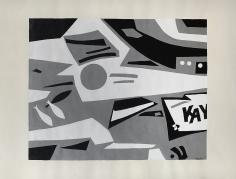George Vranesh (1926-2014) Untitled (Kayak), 1980